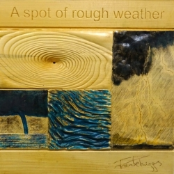 Frank Triggs. A Spot of Rough Weather. Limewood. £350