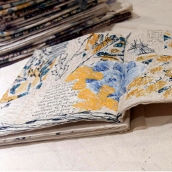 Mixed Media Textile Book Workshop with Suzette Smart