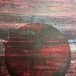Anne Marie Lagram. Red Barn. Oil on Canvas. NFS