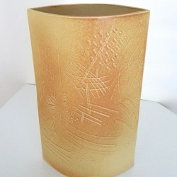 Caroline Bennett. medium relief vase WEB