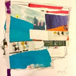 Janie McLeod. Flags II