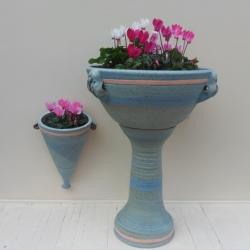 Ed Brown Stoneware planters
